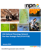 USA-NPN Strategic Plan report cover